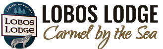 Lobos Lodge ~ Carmel California Logo