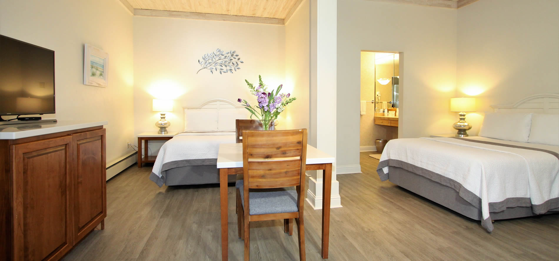 intermediate double bed room